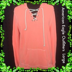 American Eagle Outfitters / Coral Hoodie